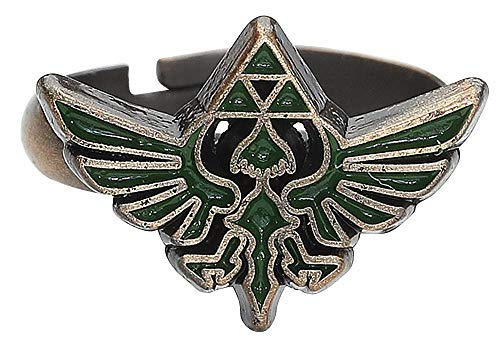 The Legend of Zelda-Anillo with Green Triforce