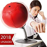 CozyBomB Desktop Punching Ball with Freestanding Suction Cup by Stress Buster and Speed Bag - Strain and Tension Relief for Adults Hyperactive Kids - Gift for Boys Boss Co-Worker at Home and Office