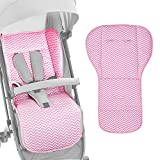 AUTOECHO Reversible Pure Cotton Universal Baby Seat Liner Mat para Todos los carros - Universal Baby Stroller Seat Liner Infantil Cojín del Asiento de Coche - Conveniente para Four Seasons