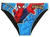 Slip de bain enfant garçon Spider-man Bleu/noir de 4 à 10 ans