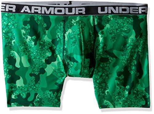 Under Armour–Maglietta originale Series stampato Boxerjock Forest Green/Steel