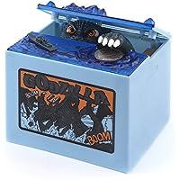 Preisvergleich für FORNORM Coin Bank Money Saving Box, Piggy Bank Electronic Money Bank Funny Toys Geburtstag Weihnachtsgeschenk für Kinder, Automatisch, Shining und Musik spielen, Power von 2 x AA Batterien (Nicht im Lieferumfang Enthalten)