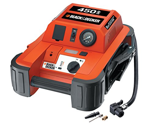 Black and Decker BDJS450I Arrancador De Batería + Compresor, 450A