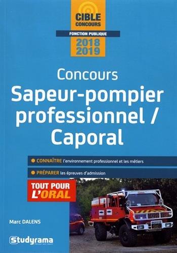 Concours Sapeur-pompier professionnel/Caporal - Tout pour l'oral