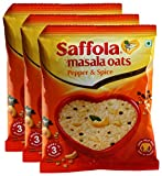 #3: Big Bazaar Combo - Saffola Masala Oats Pepper and Spice, 40g (Pack of 3) Promo Pack