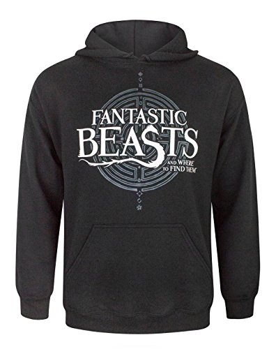 Fantastic Beasts And Where To Find Them Logo Men's Hoodie (L)