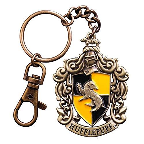 Harry Potter - Metall Schlüsselanhänger - Hufflepuff Wappen -