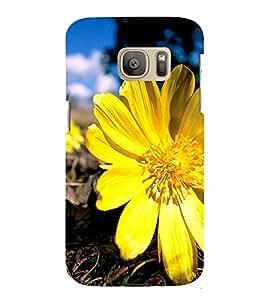 Fuson Designer Back Case Cover for Samsung Galaxy S7 :: Samsung Galaxy S7 Duos :: Samsung Galaxy S7 G930F G930 G930Fd (Flower Bloom Blossom Floret Floweret)