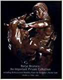 Barye Bronzes : An Important Private Collection Including Rediscovered Modeles from the Sculptor's Atelier Sale - Christie's New York - April 25, 2003 - Sale #ANTOINE - 1296 (ART AUCTION CATALOGUE)