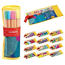 Fineliner - STABILO Point 88 Rollerset of 25 Assorted Colours incl 5 neon Colours