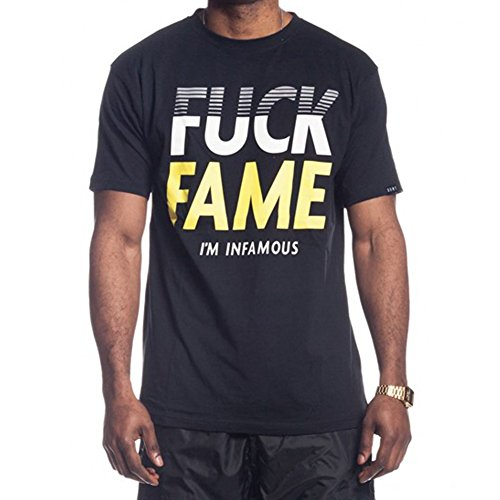 GRIMEY CAMISETA FUCK FAME TEE SS16 BLACK-S