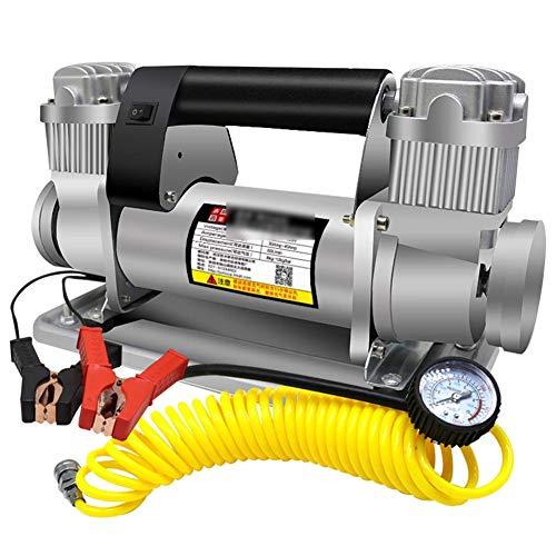 FAINT 12-V-Luftpumpe Für Geländewagen Hochleistungs-Doppelzylinder-Luftpumpe Mit 480 W Für Große Fahrzeuge, 5 M Langes Rohr -