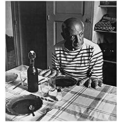 1art1 41439 Robert Doisneau - Die Brötchen Von Picasso Poster Kunstdruck 60 x 50 cm