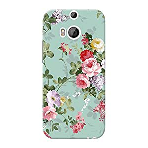 Mobile Back Cover For HTC Desire One M8 Eye (Printed Designer Case)