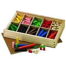 Fajeda - Caja con 300 regletas madera (44-1)
