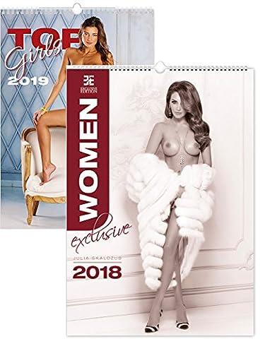 C271-18-19 Kalpa Wall Calendar 2018 Women Exclusive 34 x 48.5 cm + Buy 1 Get 1 free Calendar for 2019
