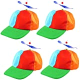 4 Baseball Cap mit Propeller Basecap Propellercap Baseballcap