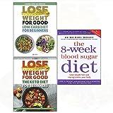 8-Week blood sugar diet, low carb diet, keto diet 3 books collection set