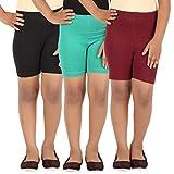 #2: Lula Girl's Spandex Cycling Shorts