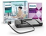 Philips LFH7277 Wiedergabe-Set für digitale Diktiersysteme von Philips, inkl. USB-Fußschalter...