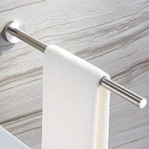 Handtuchhalter Edelstahl Bad Handtuchstange Wandmontage Gebürstet 40 cm