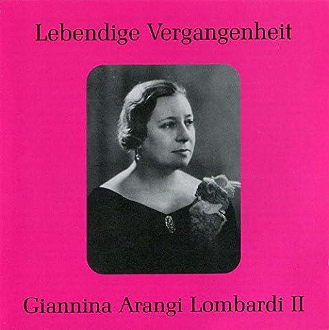 Lebendige Vergangenheit - Arangi Lombardi II