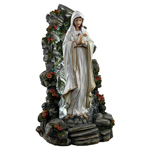 Virgin Mary Garden Statue ('Interpret Design Toscano Statue von