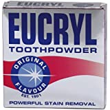 Eucryl Tooth Powder, Original,Powerful Stain Removal, Whitening-50g NEW