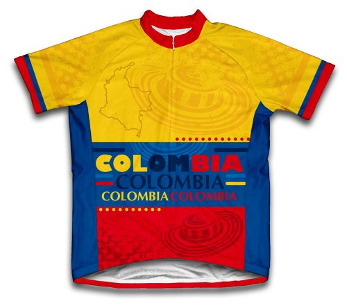 2735519e8 Colombia Short Sleeve Cycling Jersey for Men - Size XL. by scudopro