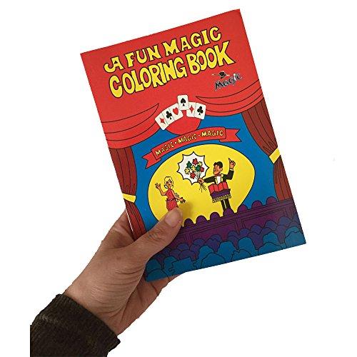 Magic Malbuch Trick 3| leicht Magic Prop | Close Up | Street Performer | Kinder Kinder Entertainer | verschwinden wieder verschwinden | Medium Größe 14x 21cm | Anleitung enthalten | UK Verkäufer