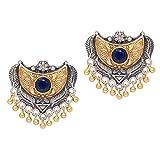 Jaipur Mart Oxidised Two Tone Gold & Sil...