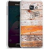 Samsung Galaxy A3 (2016) Housse Étui Protection Coque Look bois Planches Motif
