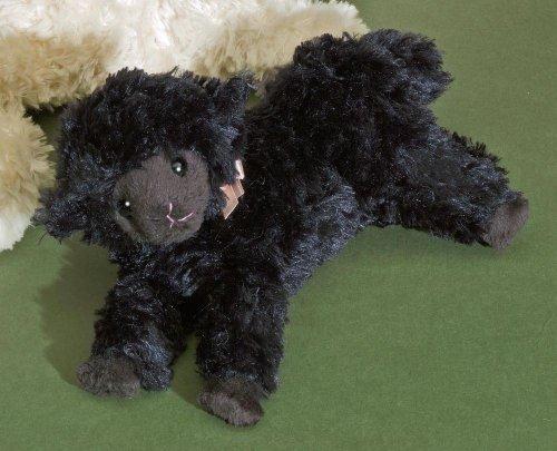 Lamm - schwarzes Schaf - von Förster - Plüschtier Nr. 3504 - 18 cm groß (Schaf Plüschtier Schwarzes)
