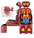 QRFDIAN Dos électrique de massagepadcervical | Fauteuil de massage Shiatsu | taille | épaules | pétrissage | soulager les douleurs musculaires | pour la maison | Bureau | Coussin de massage pour le do