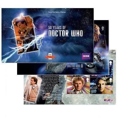 Doctor Who Prestige Stempelbuch -