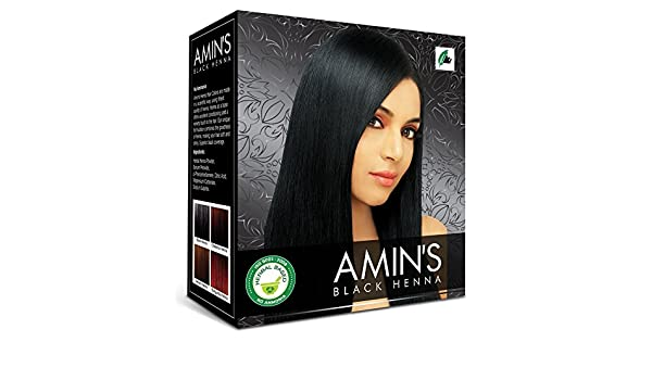 2a6181edb Buy Amin's Black Henna Combo pack of 2 Online at Low Prices in India -  Amazon.in