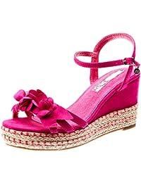7e72fe884f6 Amazon.es  sandalias fucsias  Zapatos y complementos