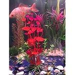 PANYTOW Aquarium Plastic Plants Fish Tank Imitation Sea Urchin Water Aquatic Grass Artificial Plants Decoration for… 14