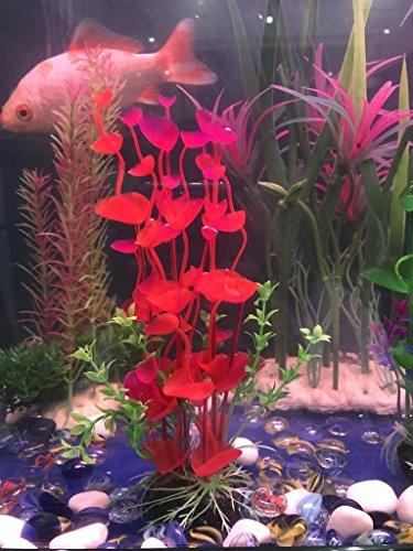 PANYTOW Aquarium Plastic Plants Fish Tank Imitation Sea Urchin Water Aquatic Grass Artificial Plants Decoration for… 7