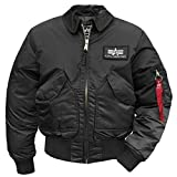 Alpha Industries CWU-45, Gr. XXL, schwarz