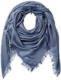 BOSS Damen Nalu_2 Schal, Blau (Medium Blue 427), One Size (Herstellergröße: ONESI)