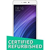 (Certified REFURBISHED) Redmi 4A MZB5602IN (Gold, 3GB RAM, 32GB Storage)