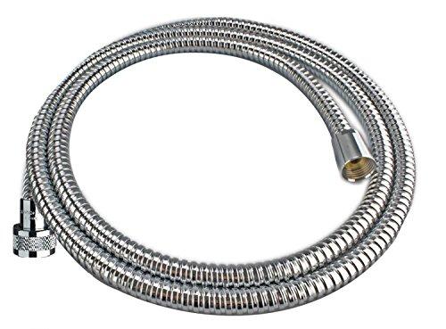 Cornat Wellwater Edelstahl Spiral Brauseschlauch mit Stretch Effect 150 - 200 cm.