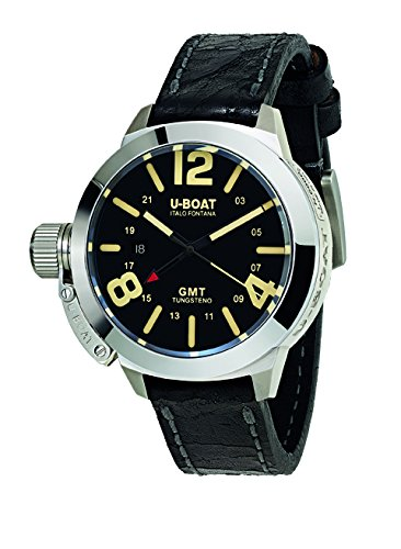 U-Boat Men's Analogue Automatic Watch with Leather Strap U8050
