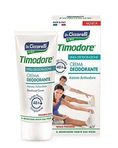 Dottor Ciccarelli Timodore Crema Deodorante 48 H Azione Antisudore Linea Deodorazione 50ml