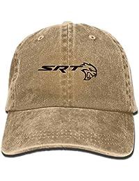 Wfispiy SRT-Dodge Challenger Logo Unisex Baseball Cap Trucker Hat Adult Cowboy Hat Hip Hop