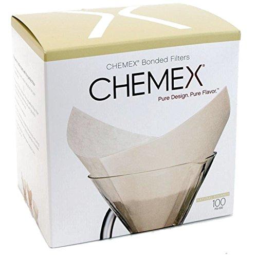 100 filtros de papel para Chemex