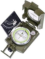 ARINO Camping Boussole Multifonction Professionnelle Orientation Militaire Portable avec Inclinomètre et Echelle Compas à Extérieur Plein Air pour Voyage, Randonné, Exploration etc