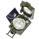 ARINO Kompass Linseatische Kompasse Professionelle Peilkompass Militär Marschkompass Multifunktion mit