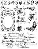 MyPaperWorld Silikonstempel Happy Birthday